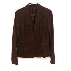 Women's Brown linen blazer